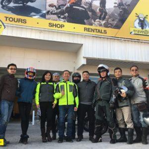 foto grupo travelbike madrid 2